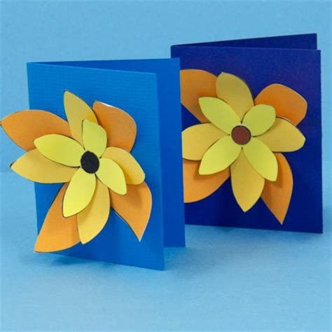 Paper Cutting Flowers Crafts - simple paper cutting techniques decorative crafts