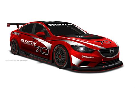 mazda north american operations mazda6 skyactiv diesel to compete in 2013 grand am series