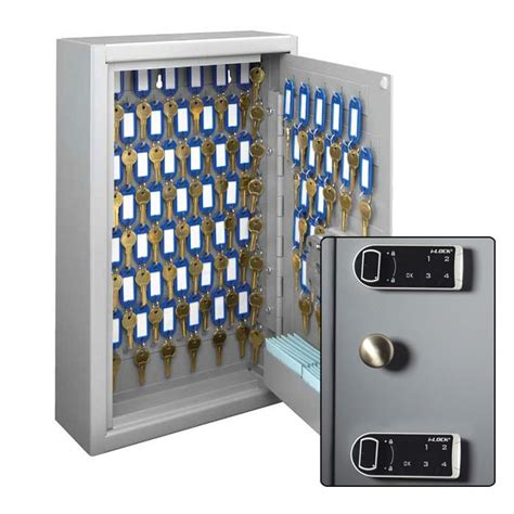 key cabinet with combination lock maximum security key cabinet dual control electronic