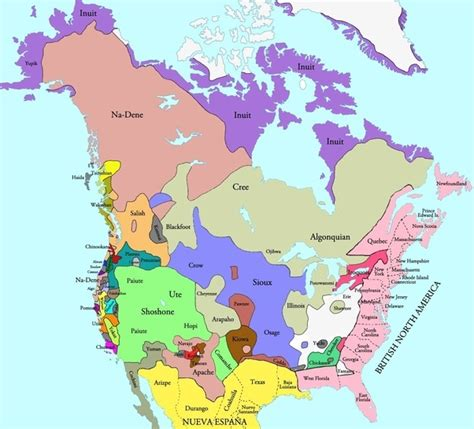 sections of the us in the 1760s which parts of north america belonged to