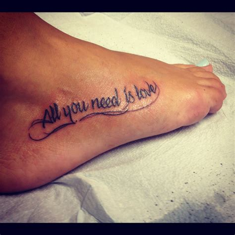 all you need is love tattoo design all you need is