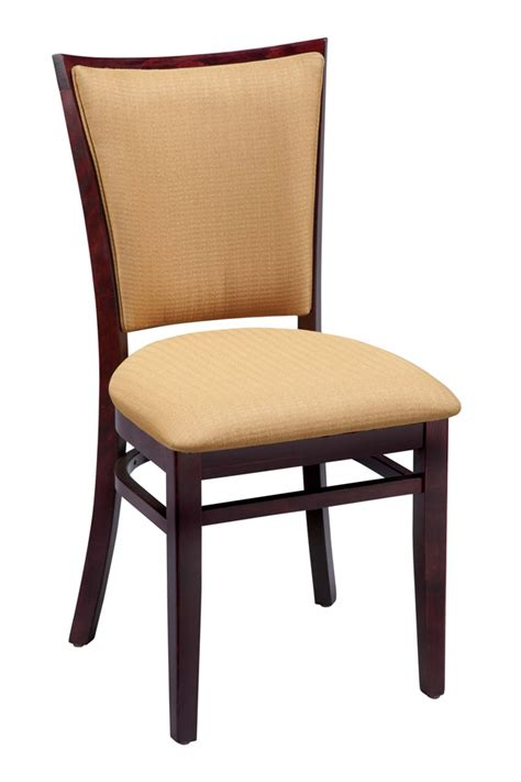 Commercial Dining Chair Regal Seating Series 411 Window Pane Commercial Dining Chair With Upholstered Seat And Back