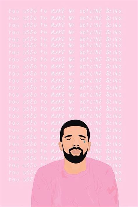 wallpaper drake tumblr you use to make my hotline bling iphone wallpaper my
