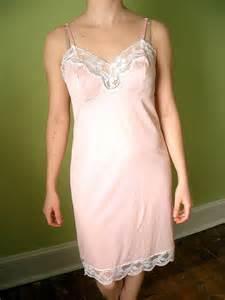Vanity Fair Full Slips Vintage Vanity Fair Pink Peach Slip Size Medium