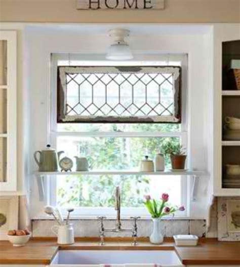 Kitchen Window Shelf Ideas Kitchen Window Shelf And Stained Glass Hanging House Ideas Kitchen Window
