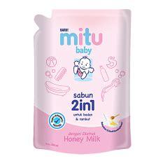 Mitu Baby Shoo Refill 400ml perlengkapan bayi terbaik lazada co id