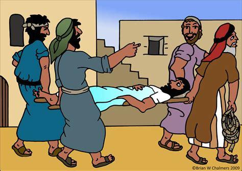 jesus heals paralyzed man memes