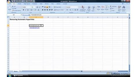 excel 2007 hyperlink format shortcut to remove all hyperlinks in excel 2007 how to