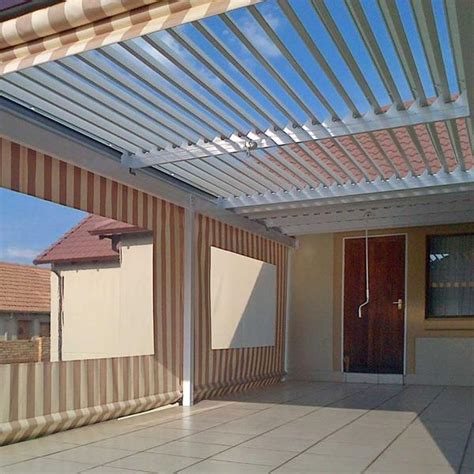 Adjustable Awnings Adjustable Louvre Awnings