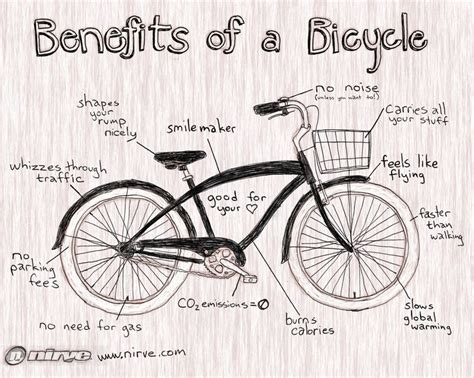 8 Benefits Of A Bike benefits of a bicycle cruiserstyle sign sign