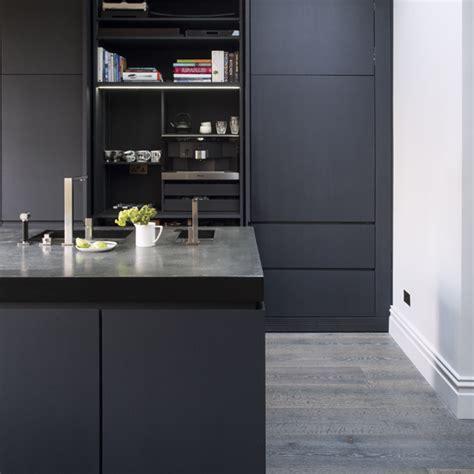 Dark Kitchen Cabinets With Black Appliances Grey Kitchens Ideas