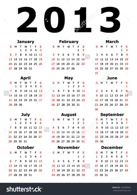 Search Calendar Search Results For Printable 2013 Monthly Calendar