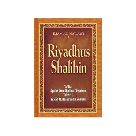 Buku Terjemah Riyadhus Sholihin 1 Dan 2 buku riyadhus shalihin