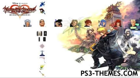 ps3 themes kingdom hearts 2 5 ps3 themes 187 kingdom hearts 358 2 days 1 5