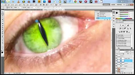 photoshop cs5 red eye tool tutorial photoshop cs5 tutorial cat eye youtube