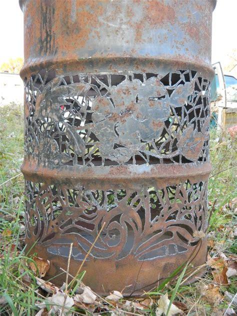 drum pattern metal 55 gal drum lace pattern michael bestwick fenelton penn