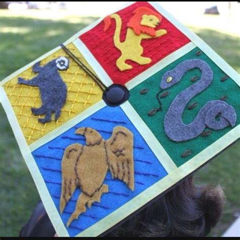 Mba Graduation Cap by My Harry Potter Inspired Mba Graduation Cap Decorated In
