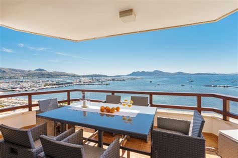 appartment mallorca penthouse la gola luxury apartment for rent in puerto pollensa mallorca