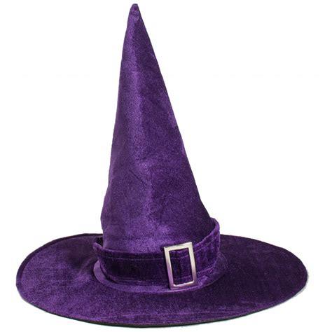 17 5 quot velvet witch hat purple 3110 329b craftoutlet com