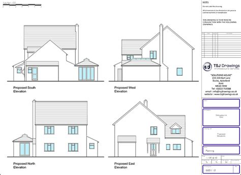 Single Storey House Extension Planning Drawings Kent Single Storey House Plans Uk