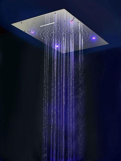 soffioni per docce soffioni doccia con cromoterapia per docce emozionali