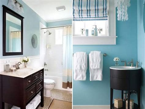 Blue Bathroom Ideas Blue And Brown Bathroom Blue And Brown Bathroom Color