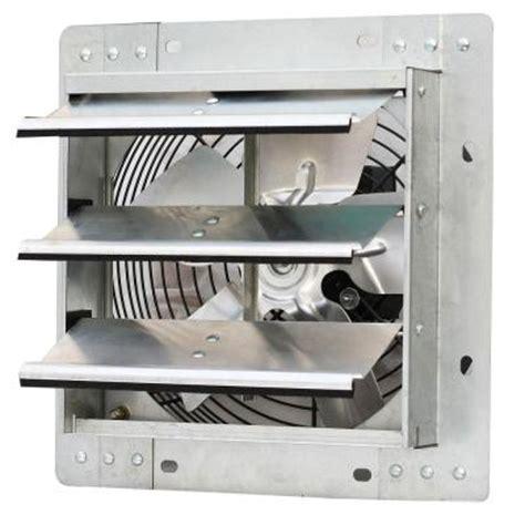 10 inch attic fan iliving 600 cfm power 10 in variable speed shutter