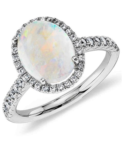 Opal Engagement Rings by Opal Engagement Rings That Are Oh So Dreamy Martha