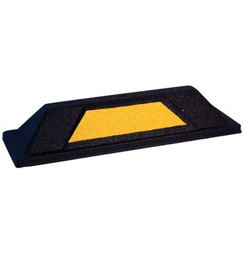 parking block in garage floor protection
