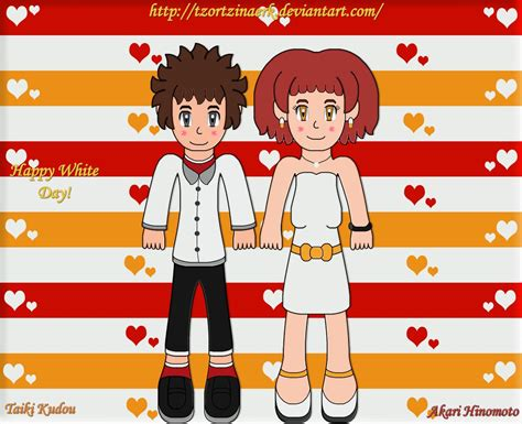 Tv Akari Second digimon hunters taiki and akari by tzortzinaerk on deviantart