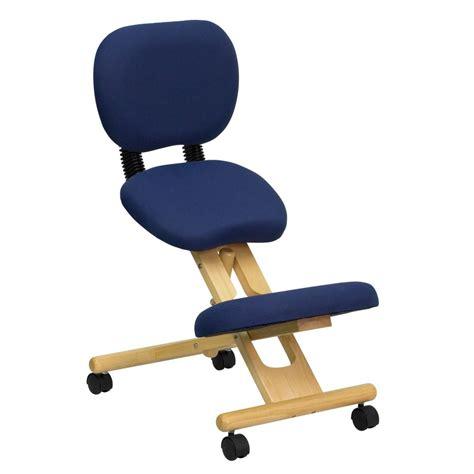 ergonomic kneeling desk chair flash furniture wl sb 310 gg wooden ergonomic kneeling