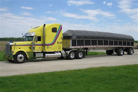 Flatbed Curtain Side Trailers Getting Around Tarping Articles Equipment Articles