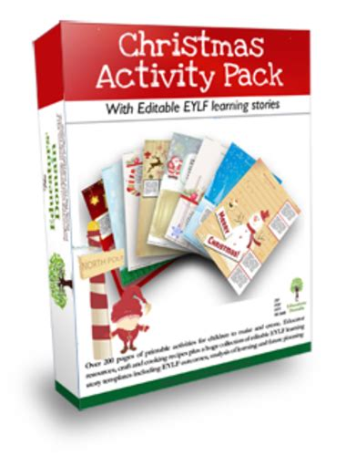 christmas craft activity pack by edomain uk teaching