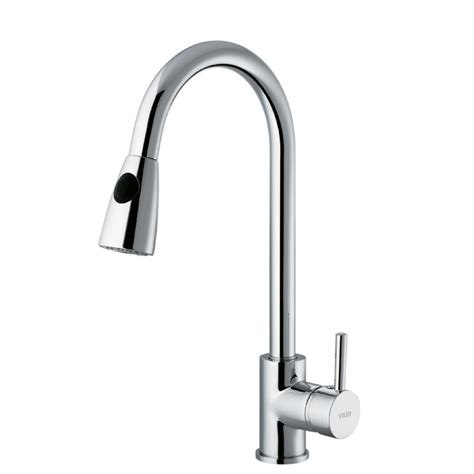 Chrome Kitchen Faucets Vigo Vg02005 Chrome Pull Out Spray Kitchen Faucet