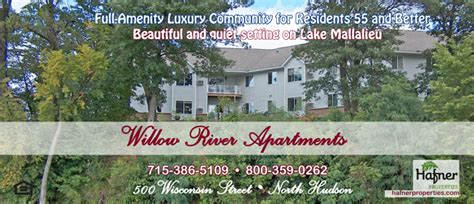 1 bedroom apartments in hudson wi willow river seniors apartments rental listings north hudson wisconsin