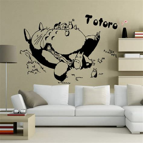 totoro home decor popular totoro wallpaper buy cheap totoro wallpaper lots