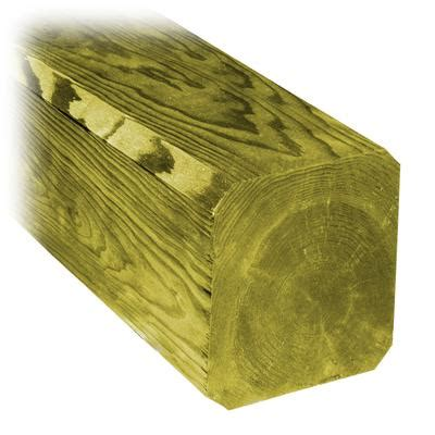 proguard 6x6x8 chamfered treated wood home depot canada