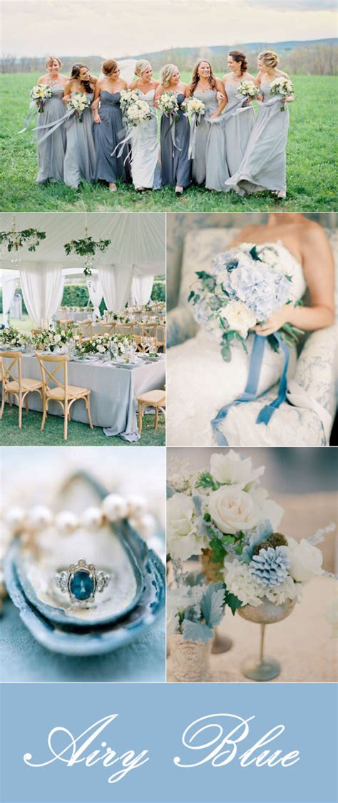 blue wedding colors top 10 winter wedding color ideas and wedding invitations