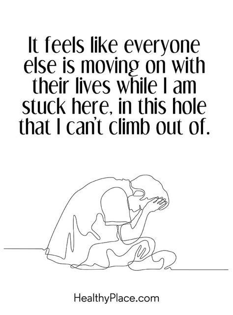 depression can t get out of bed quotes about feeling left out by family meme image 06