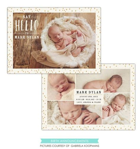 birth announcements templates for photographers 46 newborns photoshop templates for photographers by