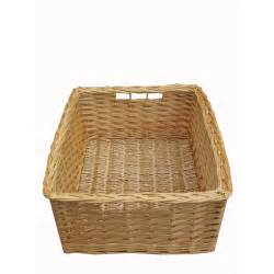 buy wicker storage basket kitchen drawer style from the