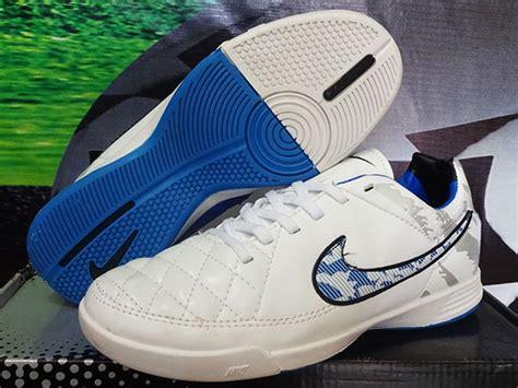 Kets Nike Spon 02 Putih sepatu futsal nike tiempo putih biru grade ori murah