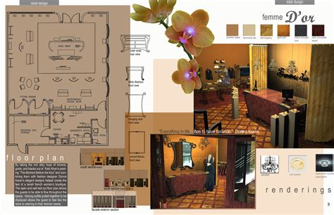 senior interior design portfolio by buck at