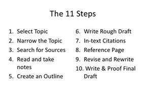 Steps To Writing An Essay For College by 10 Steps To Writing A Research Paper