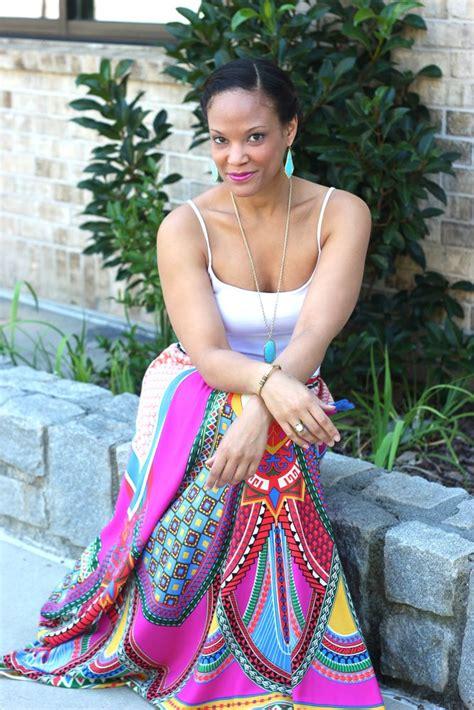 Maxi Khafali Mint St aztec maxi skirts from the mint julep boutique stushigal style