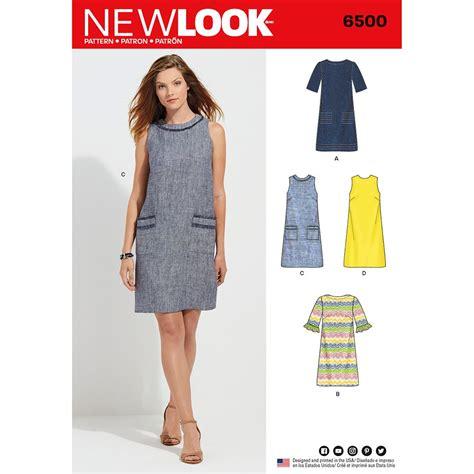 misses dress  neckline sleeve  pocket variations