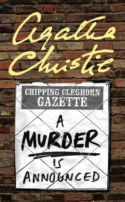 a murder is announced by agatha christie agatha christie