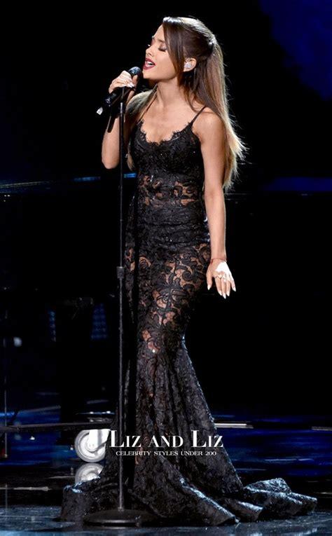 Grande Black grande black lace prom dress american
