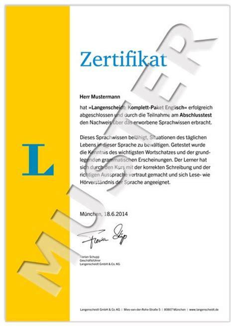Lebenslauf Englisch Zertifikat Langenscheidt Komplett Paket Englisch 3 B 252 Cher Mit 8 Cds Der Sprachkurs F 252 R Einsteiger Und