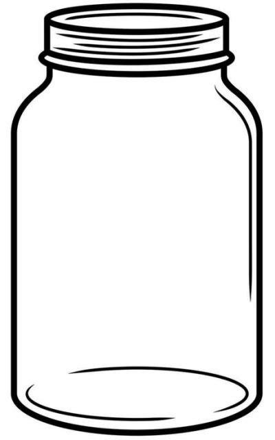 how to color jars jar sketch related keywords printables